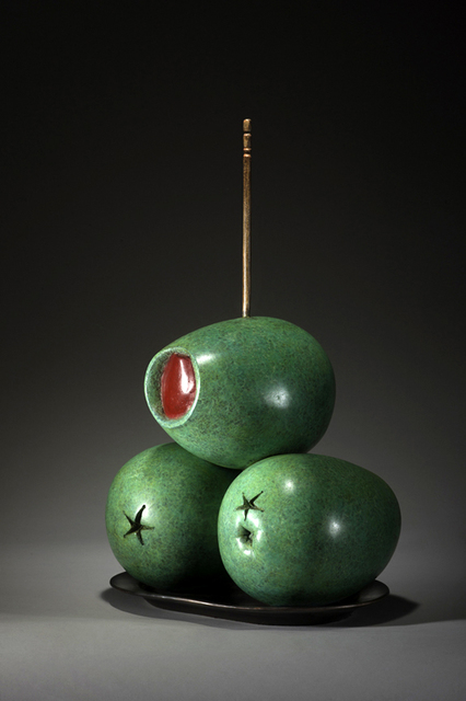, 'TAPAS SERIES XI -- STUFFED OLIVES,' 2014, ArtSpace / Virginia Miller Galleries