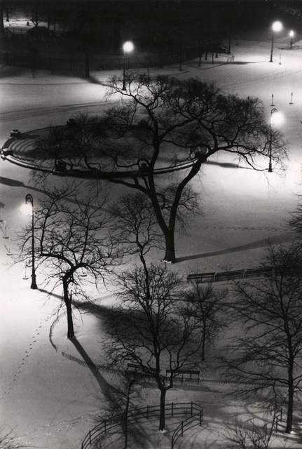 , 'Washington Square at Night,' 1954, Stephen Daiter Gallery