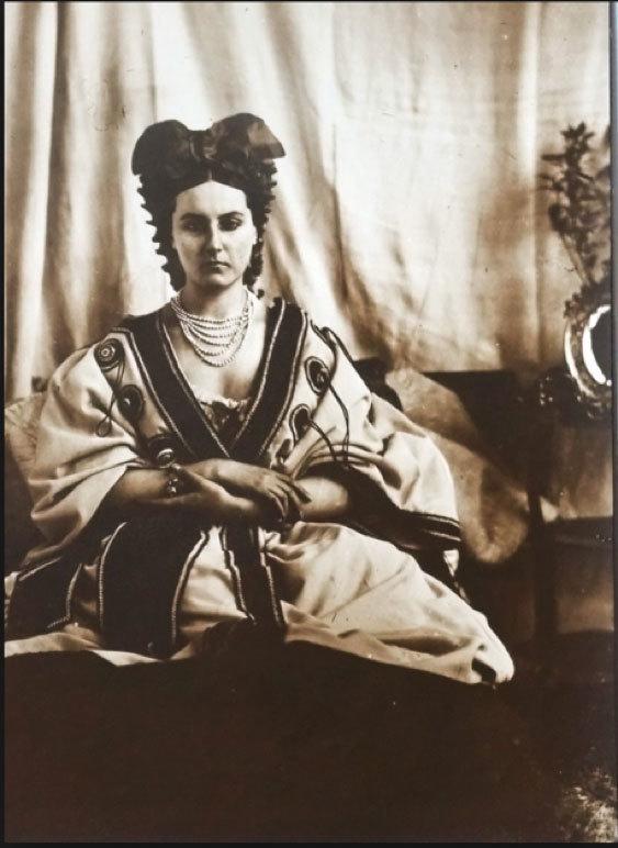 """COUNTESS DE CASTIGLIONE """"Untitled (Self-Portrait)"""", 1850/1930s"""