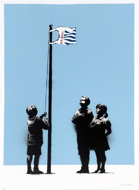 Banksy, 'Very Little Helps (Tesco Flag )', 2008, Kings Wood Art