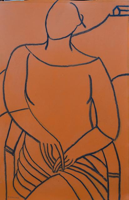 , 'Orange Mono Color,' 2014, White Court Art