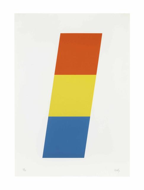 , 'Red-Orange Yellow Blue,' 1970, Carolina Nitsch Contemporary Art