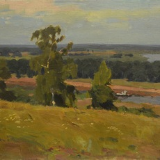 Valery Borisovich Skuridin, 'Oká riverside', 1980, Surikov Foundation