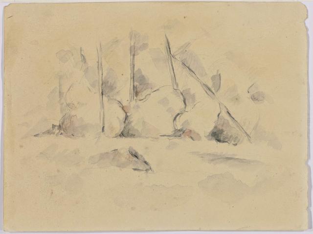 , 'Arbres Parmi des Rochers,' ca. 1890, Bernard Jacobson Gallery
