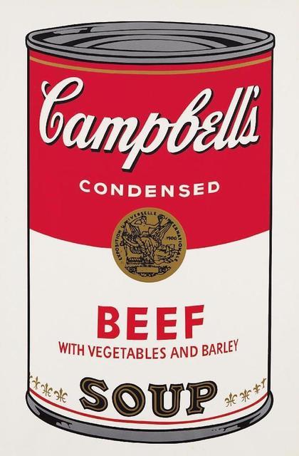 Andy Warhol, 'Campbells Soup Beef II.49', 1968, OSME Fine Art