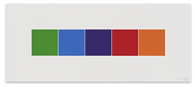 Ellsworth Kelly, 'Color Squares 4', 2012, Upsilon Gallery