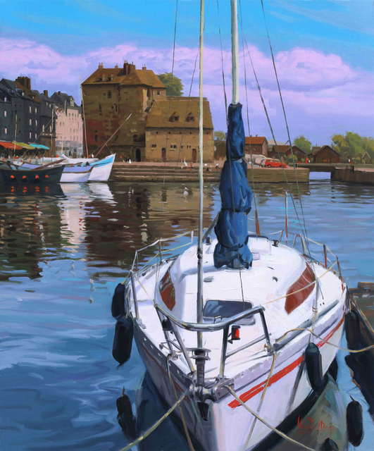 , ' Port of Honfleur ,' 2011, Vivian Choi Gallery