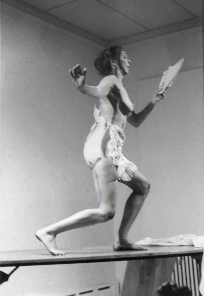 Attractive Carolee Schneemann, U0027Interior Scrollu0027, 1975, P.P.O.W