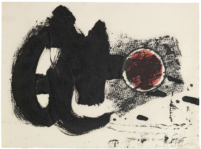 Antoni Tàpies, 'Cercle II', Print, Lithography in colours, DIGARD AUCTION