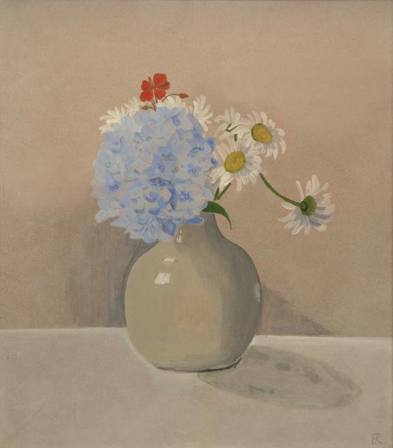 Frances Richards, 'Blue Hydrangea', 1973, Gillian Jason Gallery