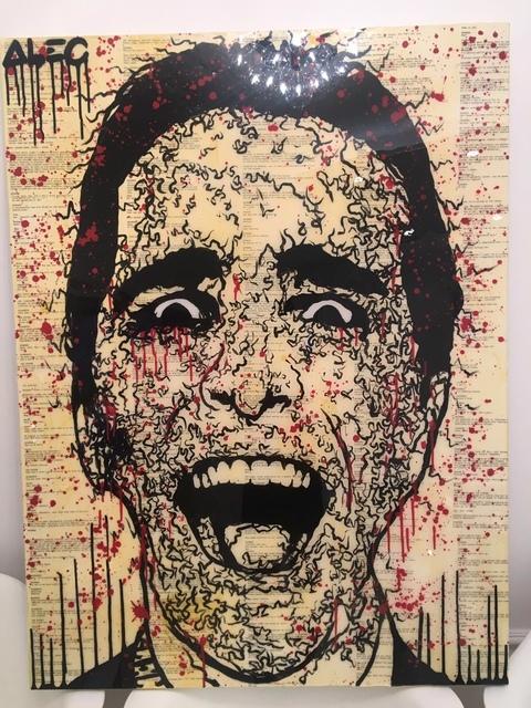, 'Patrick (American Psycho Script),' 2016, Avant Gallery