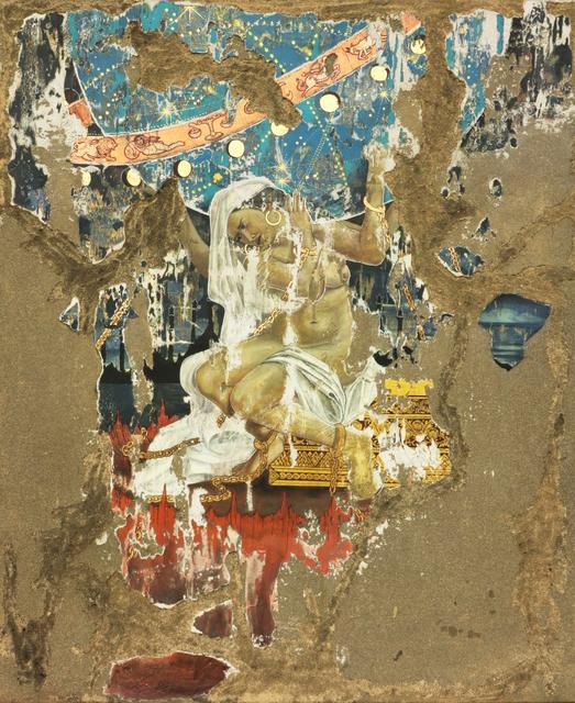 Pannaphan Yodmanee, 'Chronometer Goddess', 2020, Painting, Mixed media on jute, A3 Arndt Art Agency