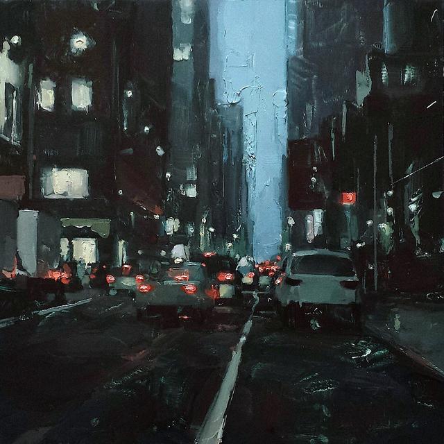 , 'Downtown Manhattan,' 2017, Sue Greenwood Fine Art