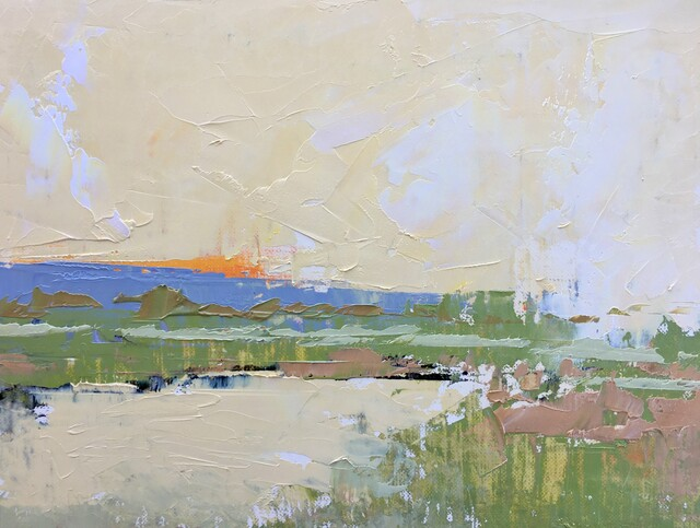 Sandra Pratt, 'Evening Sky', 2021, Painting, Oil on Linen, Abend Gallery