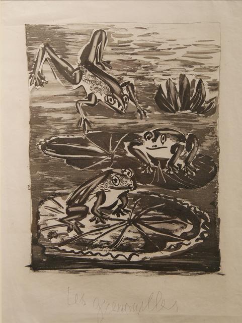 , 'La Grenouille,' 1942, Cristea Roberts Gallery