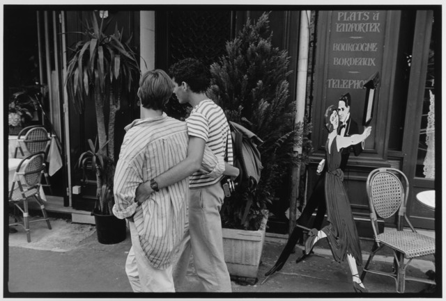 , 'Couple in striped shirts, Paris, France,' 1985, Gallery 270