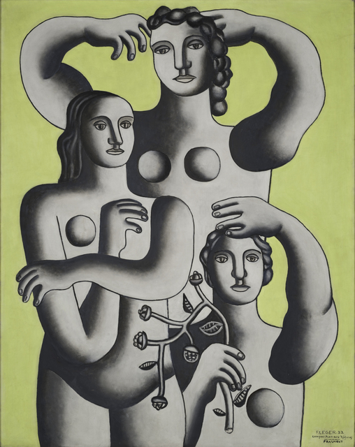 , 'Composition with Three Figures— Fragment,' 1932, Barnes Foundation