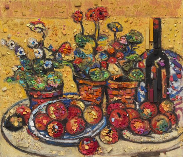 , 'Metachrome (Fruit and Flowers, after Maurice Prendergast),' 2016, Matthew Liu Fine Arts