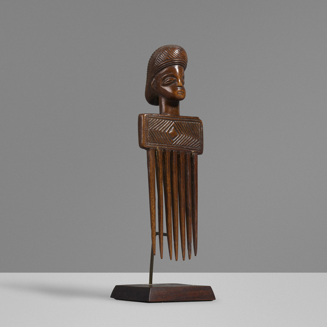'Comb', Other, Carved wood, Rago/Wright