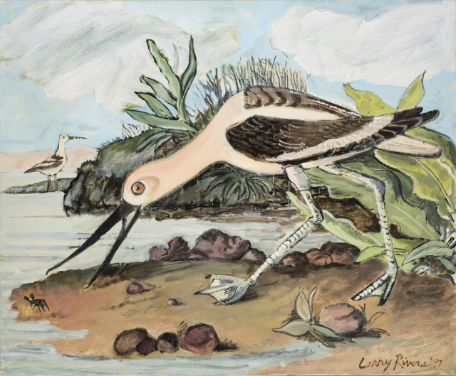 Larry Rivers, 'American Avocet', 1997, The Sunfair Gallery