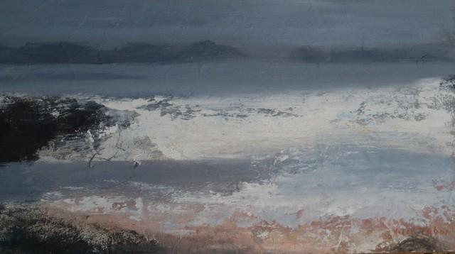 , 'Shore edge,' 2017, Castlegate House Gallery