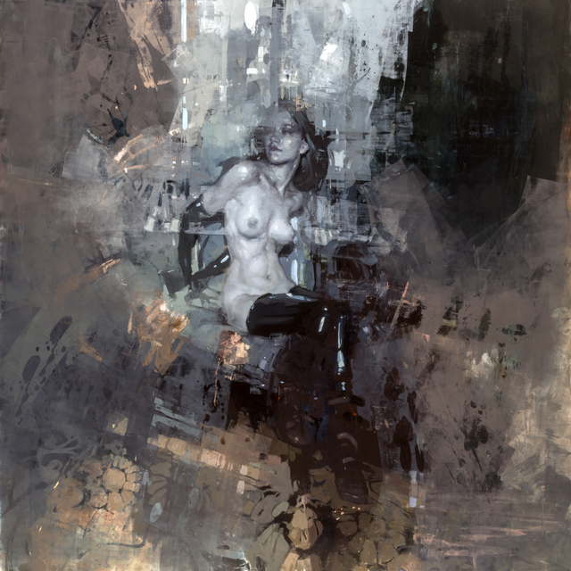 , 'Vinyl Fleurette,' 2018, Maxwell Alexander Gallery