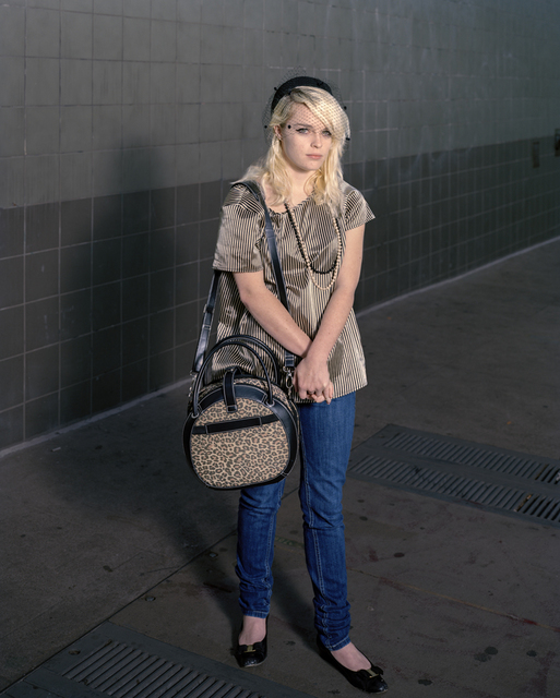 , 'Girl with the Leopard-Skin bag, San Francisco,' 2010, Benrubi Gallery