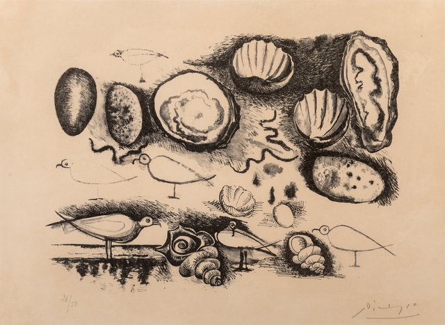 Pablo Picasso, 'Shells and Birds', 1946, Heritage Auctions