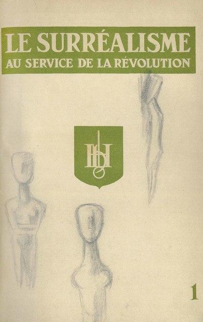 Various Artists, 'Le Surréalisme au service de la révolution, Corti, Paris, July 1930 - May 1933', Christie's