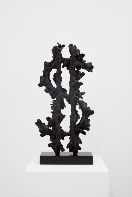 Johan Creten, 'Sign of the Times', 2014, Sculpture, Patinated bronze, Almine Rech