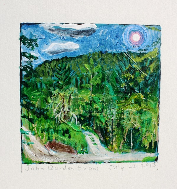 , 'Two Roads and a Moon, Hawley, MA,' 2013, Addison/Ripley Fine Art