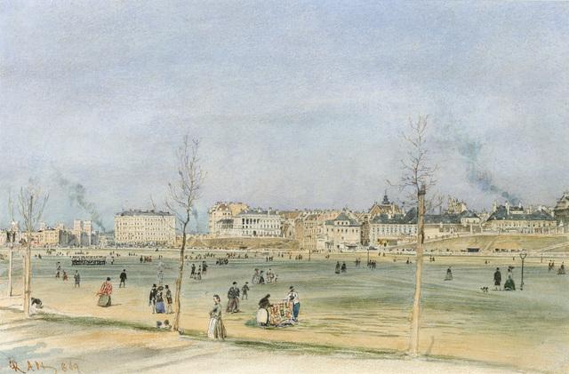 , 'View of Vienna,' 1869, Galerie Kovacek