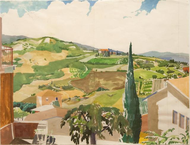 Celia Reisman, 'Study for Remember Valley', 2014, Paul Thiebaud Gallery