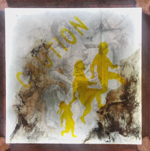, 'Migrant Crossing,' 2019, Ro2 Art
