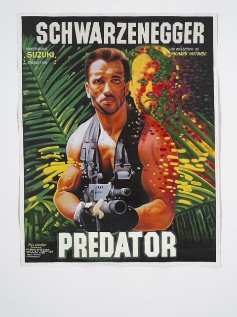 """JP Mika, 'Schwarzenegger """"Predator""""', 2019, Magnin-A"""