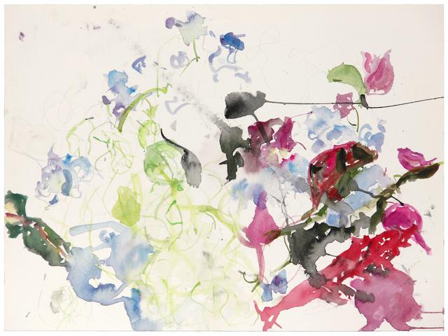 , 'White Bougainvillea, Plumbago,' 2013, Lennon, Weinberg