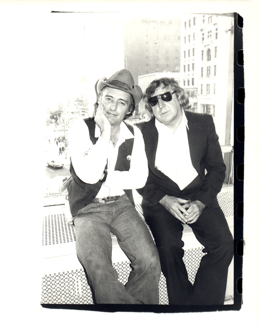 Andy Warhol, 'Andy Warhol, Photograph of Dennis Hopper and Gerry Rothberg, 1977', 1977, Hedges Projects