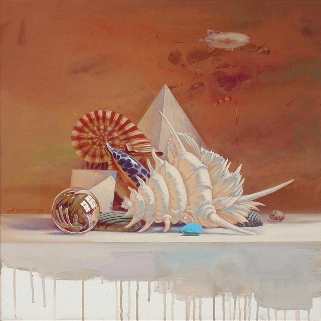 , 'Die Versuchung der Hoffnung – I,' 2014, Galerie AM PARK