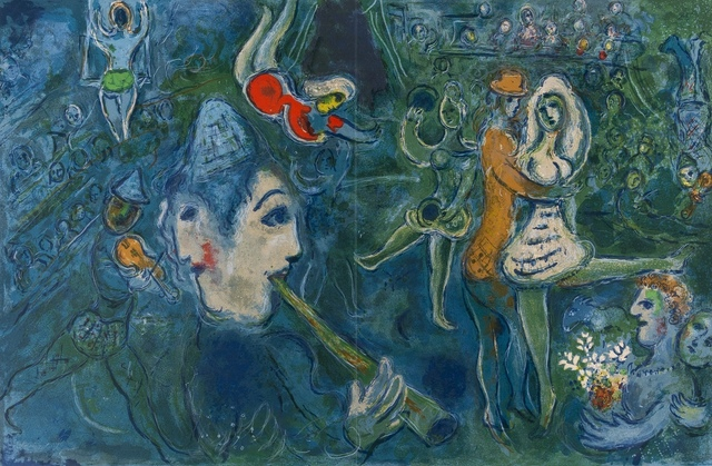 Marc Chagall, 'The Circus (Mourlot 517; Cramer Books 68)', 1967, Print, Lithograph printed in colours, Forum Auctions