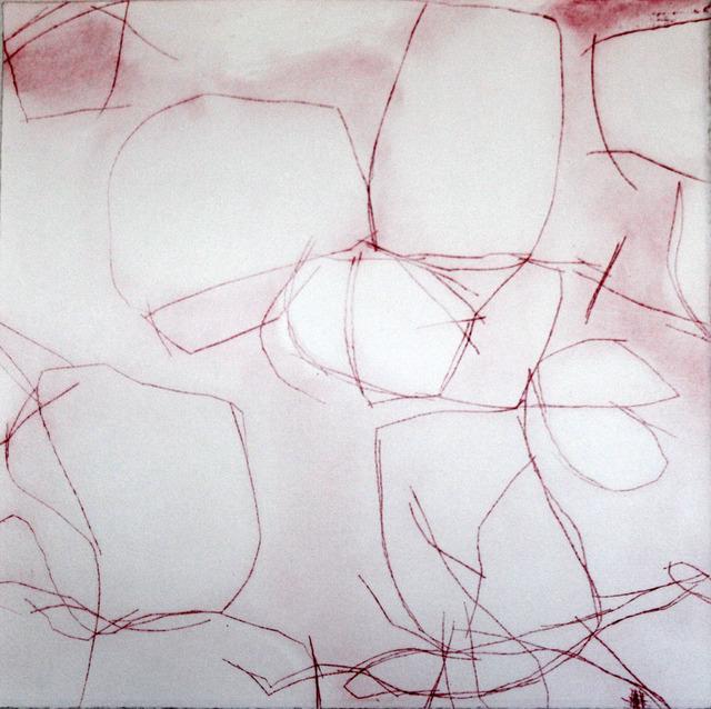 , 'Crimson Overgrowth IV,' 2015, Paraphé