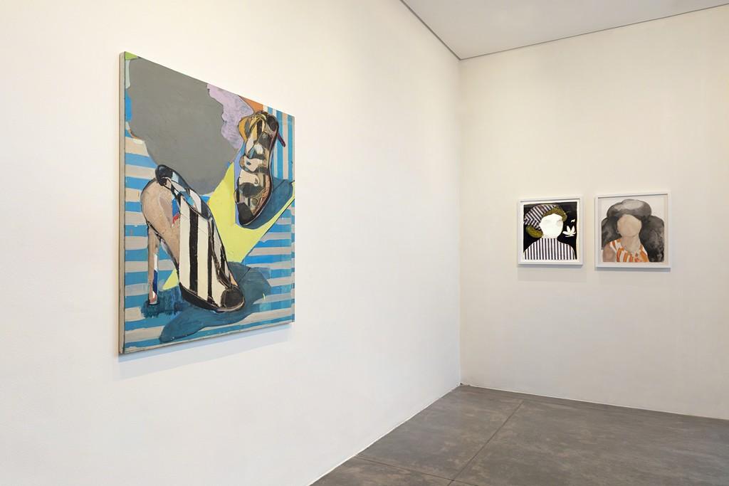 cristina canale: cabeças/falantes -- exhibition view -- galeria nara roesler   são paulo 2018 -- photo © Everton Ballardin, courtesy of the artist and galeria nara roesler