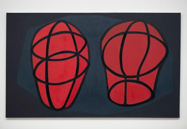 , 'Dos cabezas [Two heads],' 2014, Galeria Luisa Strina