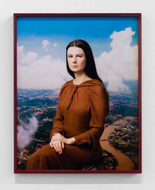 , 'Me as Mona Lisa,' 2020, Maureen Paley