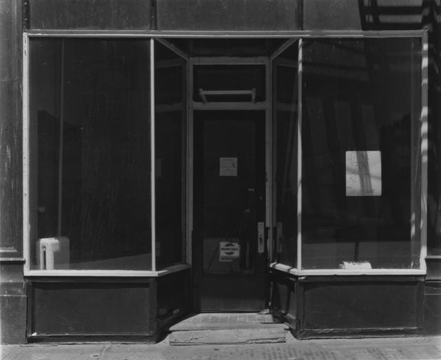 Bevan Davies, 'Storefront, Manhattan, New York', 1976, Photography, Vintage ferotyped gelatin silver print, Joseph Bellows Gallery