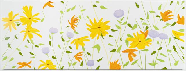 Alex Katz, 'Summer Flowers', 2018, Meyerovich Gallery