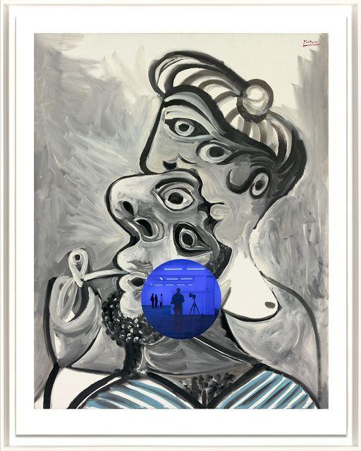 , 'Gazing Ball (Picasso Couple),' 2017, Jonathan Novak Contemporary Art