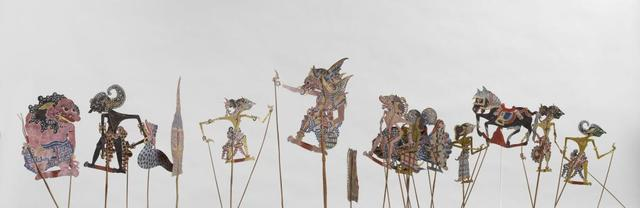, 'Ensemble of Wayang Kulit shadow figures,' End of 19th century, Musée national des arts asiatiques - Guimet