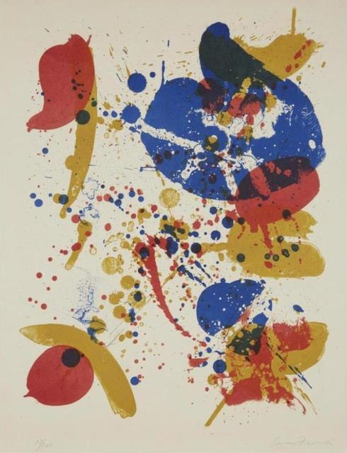 Sam Francis, '#6 from', 1963, Kunzt Gallery