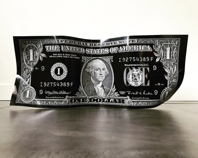 Karl Lagasse, 'One Dollar - Black', 2019, Design by Jaler
