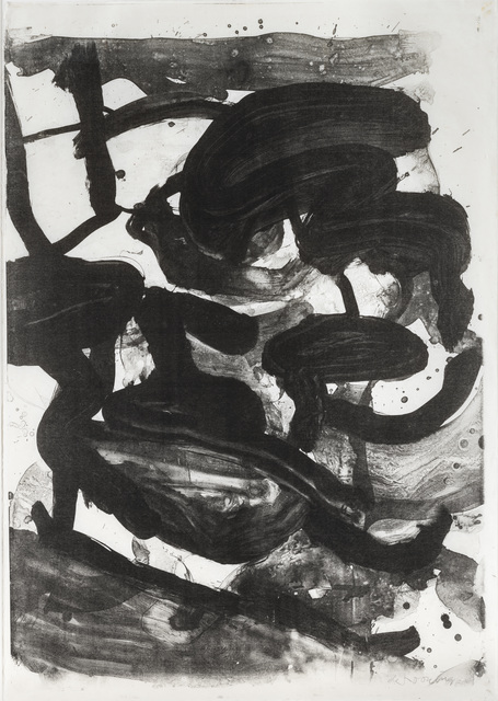 , 'Untitled (Large Sumi Brushstrokes),' 1970, Susan Sheehan Gallery